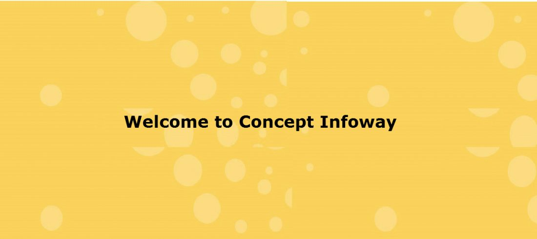 Welcome to Concept Infoway