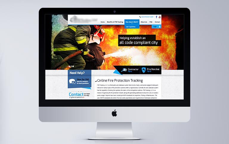 Custom CMS - Fire Protection Tracking